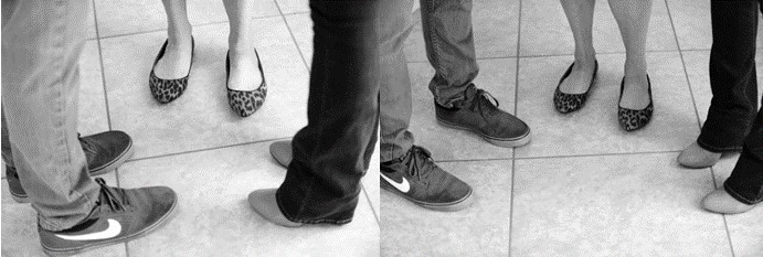 feet position